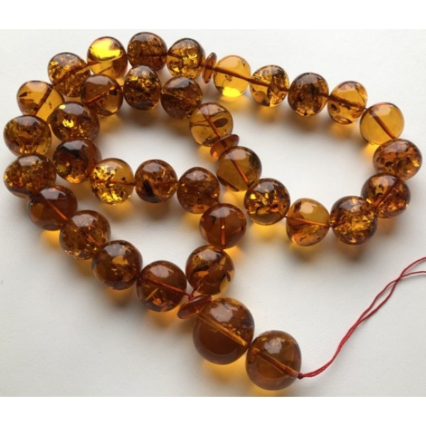 Amber Baltic ROSARY 159 Gr Prayer Beads Islamic Amber - IPB03