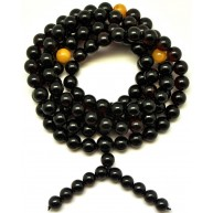 Baltic amber Tibetan Buddhist Mala Prayer 108 beads 8,8 mm