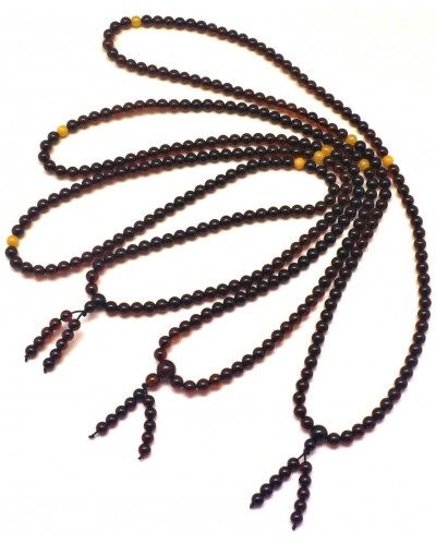 3  Tibetan Buddhist Mala Prayer 108 Baltic amber beads 5,5 mm