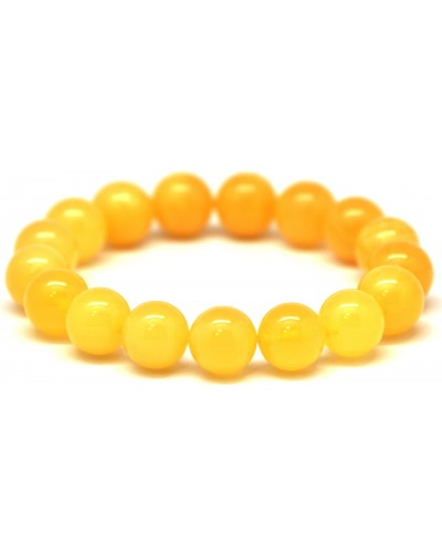Antique round beads Baltic amber bracelet 12 mm.