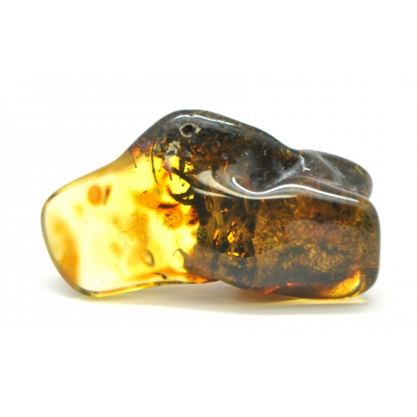 Baltic amber stone with inclusion-LA0536