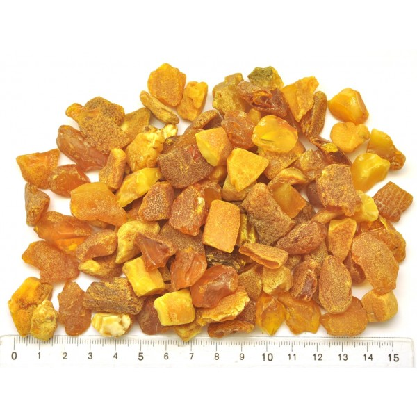 130 g Raw Baltic amber stones-RA0295