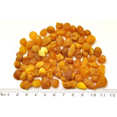 30 g. Small Baltic amber drops-RA0288