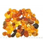 100 g Raw Baltic amber stones
