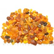 200 g Raw Baltic amber stones
