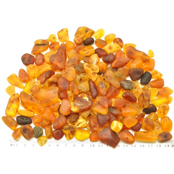 Olive Garden With Amberstone: 200 G Raw Baltic Amber Stones From Online Baltic Amber
