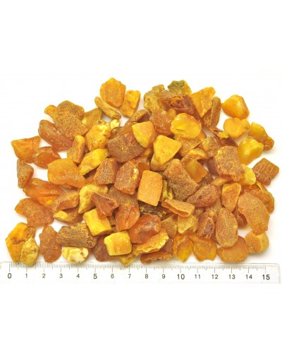 130 g Raw Baltic amber stones