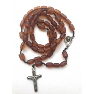 Catholic Rosary -BALTIC AMBER Natural Rosary -Christian Rosaries