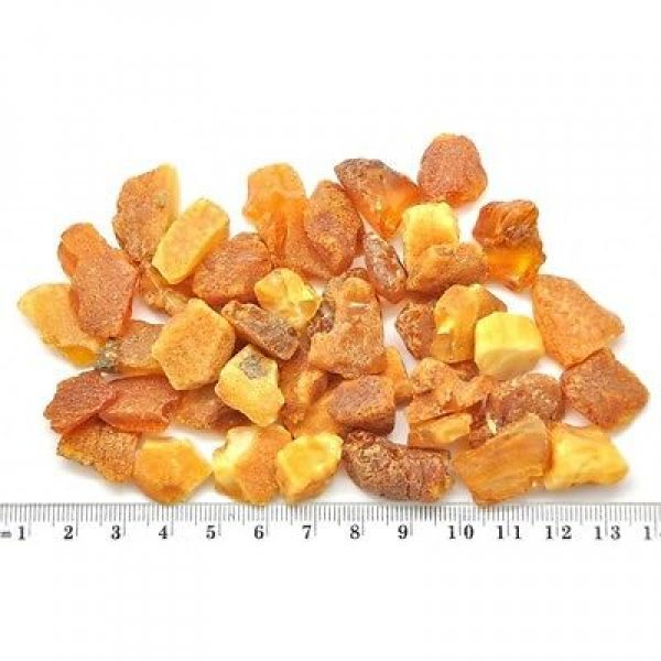 50 g Raw Baltic amber stones-RA0254