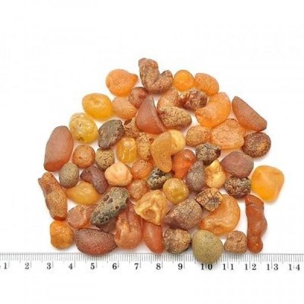 55g. Baltic amber drops-RA0285