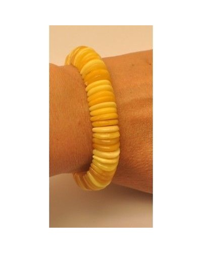 Antique color  Baltic amber  bracelet