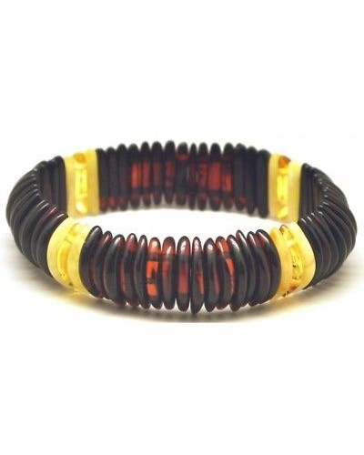 Cherry Baltic amber elastic bracelet