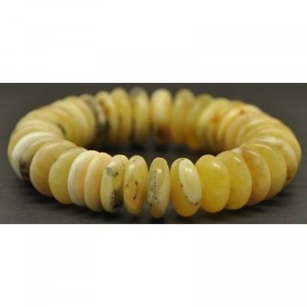 Beautiful Baltic amber elastic bracelet-AB1571