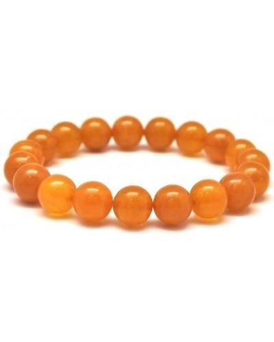 Antique round beads Baltic amber bracelet 10,8 mm.