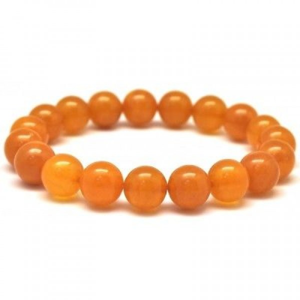 Antique round beads Baltic amber bracelet 10,8 mm.