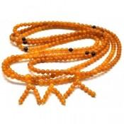 3 Baltic amber Tibetan Buddhist Mala Prayer 108  beads 5,2 mm