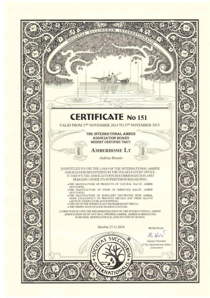 amber-certificate